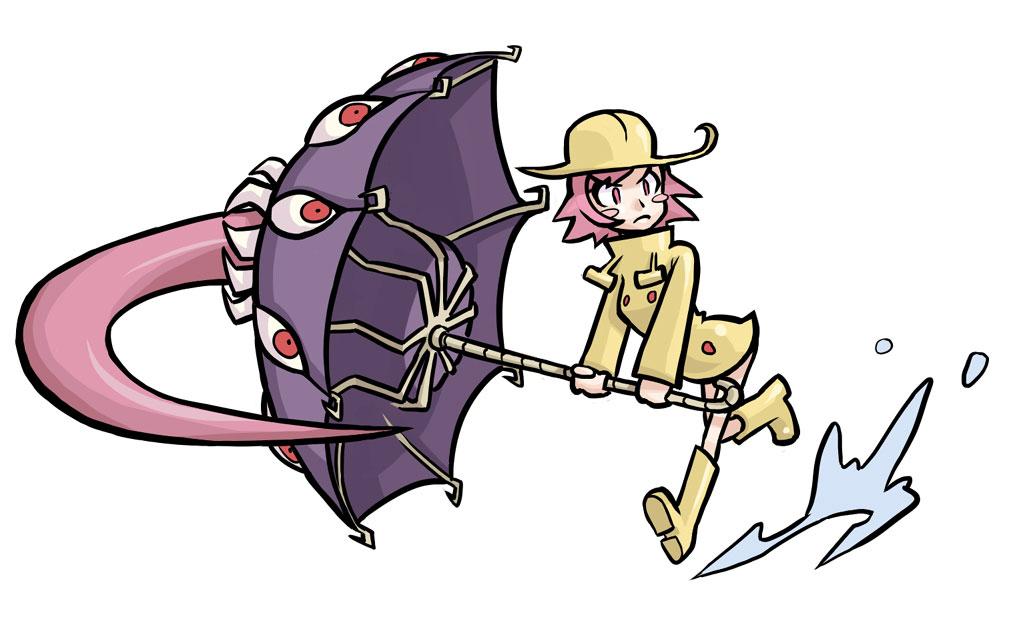 Umbrella Skullgirls Concept Art