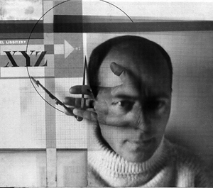El Lissitzky - The Constructor (Self-Portrait), 1924
